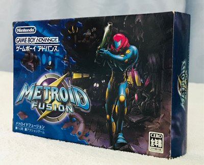 Game Boy Advance GBA Metroid Fusion 銀河戰士 融入 日版