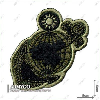 【ARMYGO】海軍陸戰隊隊徽 (綠色版)