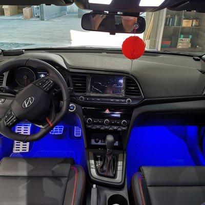 巨城汽車精品 HID 現代 2019 ELANTRA SMD LED 18晶軟條 氣氛燈 氣霸燈 室內燈