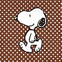 ❤Lika小舖❤卡通動畫款25cm 進口餐巾紙 蝶谷巴特 蝶古巴特愛心史努比史奴比查理布朗 塔克小黃鳥聖誕節萬聖節聖誕樹