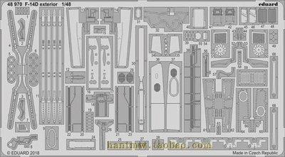 牛魔王48970 F-14D exterior 1/48~店長熱推
