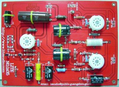 前級 套件 LS35 仿造JADIS JP-200 真空管前級成品板(不含真空管)