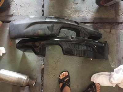 納智捷 Luxgen U6 前保下巴 後保下巴 後尾翼 已烤漆 全新品