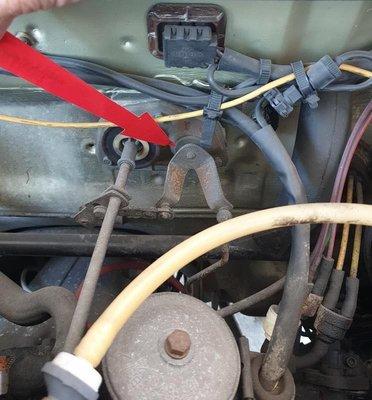 賓士 BENZ W123 油門連桿球座 油門球 W123加速器連桿樞軸
