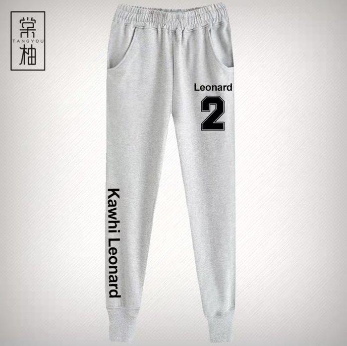 💖雷納德Kawhi Leonard運動籃球長褲💖NBA球衣快艇隊Adidas愛迪達健身訓練慢跑縮口純棉褲子男女462