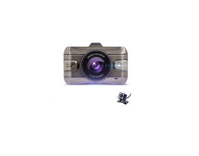 ☆ 福利品 ☆ 高階版 雙鏡頭行車記錄器 FULL HD錄影/後HD錄影/H.264/3.0吋TFT大光圈/倒車顯影