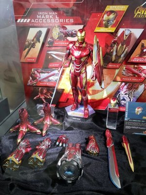 Hottoys ironman mark L 50 & Accessories 訂單 mms473 infinity war endgame avengers