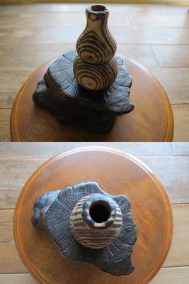 【藏拙】木製葫蘆