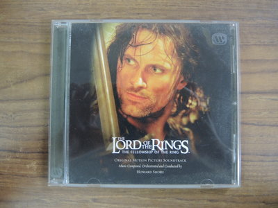 ◎MWM◎【二手CD】The Lord Of The Rings The Fellowship Of The Ring