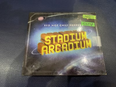 *還有唱片行*RED HOT CHILI PEPPERS 2CD 二手 Y15978 (199起拍)