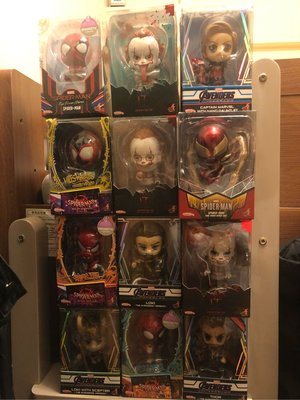 Hottoys Cosbaby Marvel IT Infinity War Spiderman Thor Captain Marvel