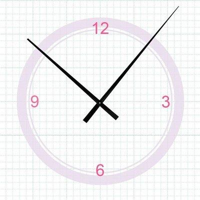 【鐘點站】V429318 SKP高扭力鎖針機芯專用 指針 DIY時鐘 鐘針/ 分針42.9公分 時針31.8公分