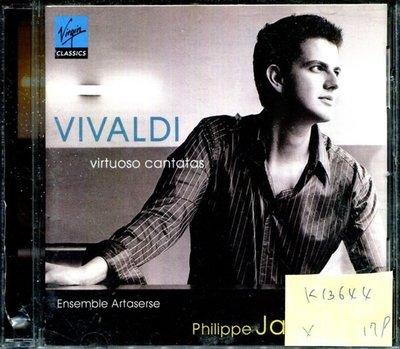 *真音樂* VIVALDI / VIRTUOSO CANTATAS 二手 K13644 (封面底破)