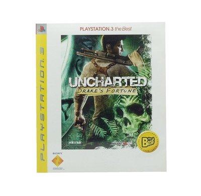 【二手遊戲】PS3 秘境探險 黃金城秘寶 UNCHARTED DRAKE'S FORTUNE BEST 中文版 台中恐龍