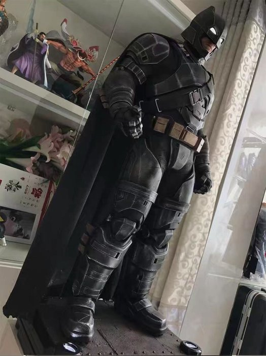 【預購】GK定制,DC正義聯盟重裝重甲1/2蝙蝠俠,超蝙大戰手辦雕塑模型