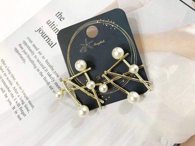 【海星 Starfish】低調品味 百搭設計款珍珠造型耳環