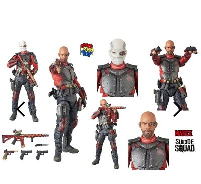 Mafex 038 DC Deadshot Justice League 全新未開