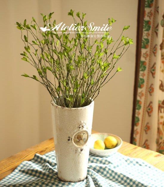 [ Atelier Smile ] 鄉村雜貨 小花園系列 仿真藤蔓小葉 裝飾果樹 仿真植物 可隨意彎曲 (現+預)
