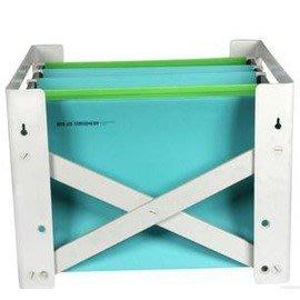 華傑辦公用品創意收納A4檔架懸掛吊夾資料架-5801001