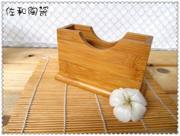 ~佐和陶瓷餐具~【05TEJ53-竹 方型紙巾架】紙巾架/餐巾紙架/餐廳用/營業用