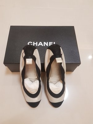 ❤Voyle Boutique❤保證正品CHANEL 平底羊皮芭蕾舞鞋 37.5,限面交