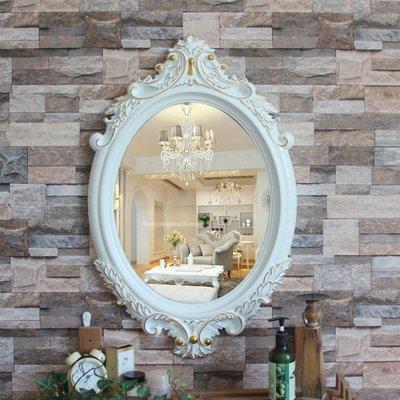 歐式鏡子 梳妝鏡 掛鏡 立鏡 鏡子 圓鏡 化妝鏡 衛浴鏡子
