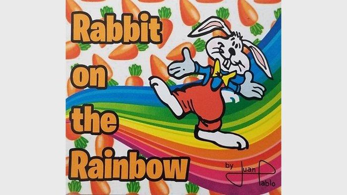 【天天魔法】【S1323】正宗原廠~彩虹兔(彩虹上的兔子)~Rabbit On The Rainbow