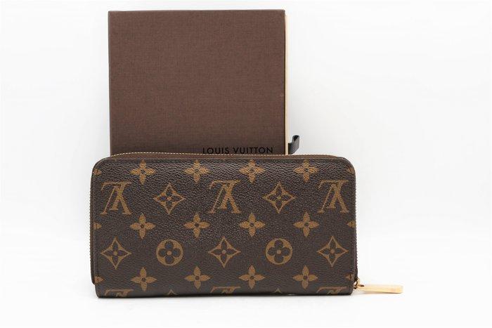 【青蘋果3C】Louis Vuitton LV M60017  拉鍊ㄇ字長夾  二手長夾#43092