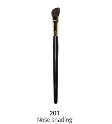 PICCASSO 201 nose shading【愛來客】韓國PICCASSO授權經銷商  灰鼠毛斜角鼻影刷 化妝刷