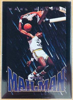"KARL MALONE 1993-94 SkyBox Premium #319 ""MAILMAN"" 郵差 馬龍 爵士隊"