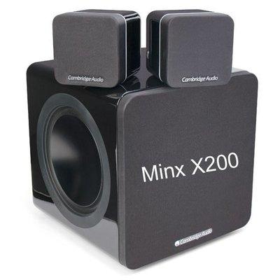 台中『 崇仁音響發燒線材精品網』Cambridge Audio Minx 212 / Min12+ Minx X200
