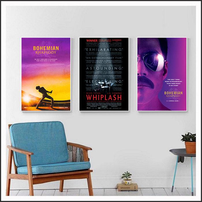進擊的鼓手 Whiplash 波希米亞狂想曲 海報 電影海報 藝術微噴 掛畫 嵌框畫 @Movie PoP 多款海報#