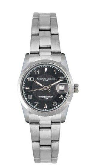 (六四三精品)Valentino coupeau(真品)(全不銹鋼)精準女錶(附保証卡)12168SL-24