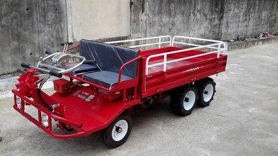 全新U-MO日本SUBARU速霸陸引擎,輪式雙人中型搬運車(適合菜園/農地/果園/山坡地等)---免運費