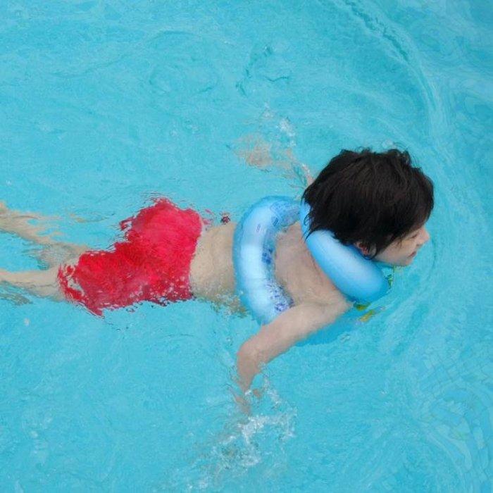 兒童游泳圈 雙層加厚腋下圈3-6歲小孩男女孩游泳裝備