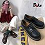 BIKU SHOES 英倫學院風布洛克鞋 復古百搭日...
