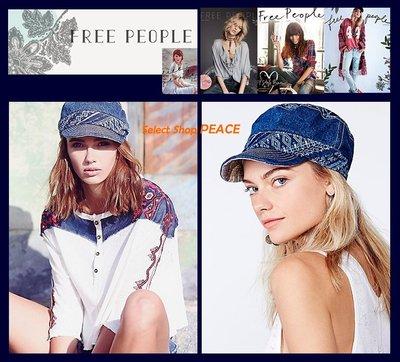 Free People 美國【現貨】帽子 Faded Denim Work Cap