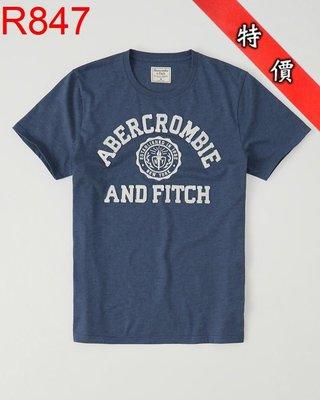 【西寧鹿】AF a&f Abercrombie & Fitch HCO  T-SHIRT 絕對真貨 可面交 R847