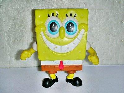 A130.(企業寶寶玩偶娃娃)少見2011年麥當勞發行海綿寶寶上班族造型公仔!--值得收藏!