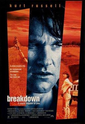 悍將奇兵-Breakdown (1997)原版電影海報