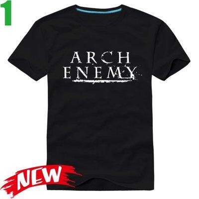 Arch Enemy【罪惡之神】短袖死亡金屬搖滾樂團T恤(共6種顏色可選 男生版.女生版皆有) 購買多件多優惠【賣場一】