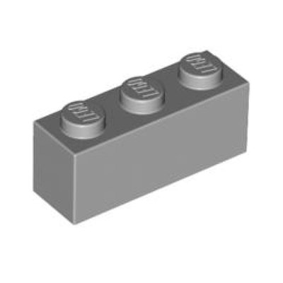 [PolarBrick][零件] Lego Light Bluish Gray Brick 1 x 3 (3622)