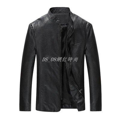 DS_08網紅時尚男性皮衣夾克2019 man leather jacket men jackets winter coat