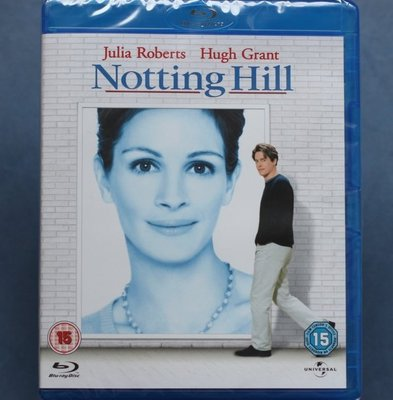 新娘百分百Notting Hill全新歐洲進口藍光BD 中文字幕 茱莉亞羅勃茲、休葛蘭