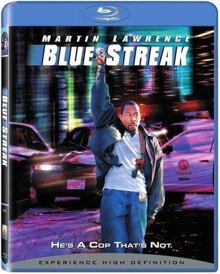 BD 全新美版【笨賊妙探】【Blue Streak】Blu-ray 藍光 馬汀勞倫斯
