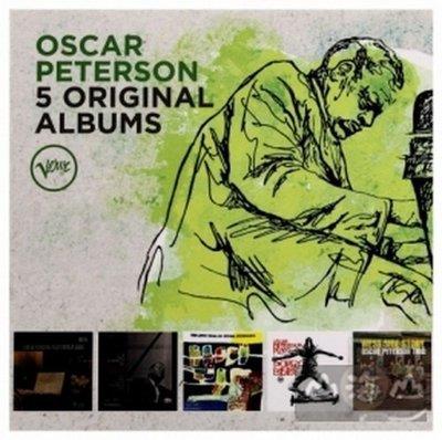 爵士超凡大師傳奇奧斯卡彼德生5CD 王盤套裝/奧斯卡彼德生 Oscar Peterson---5350975