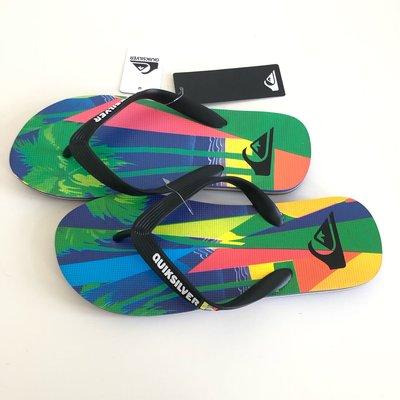《現貨》QUIKSILVER 澳洲 男生 海灘拖鞋 US7,US8,US9,US10( MOLOKAI VACANCY 人字夾腳拖鞋-彩色)