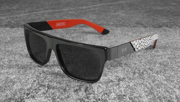 { POISON } 9FIVE 2THREE LTD 22 喬丹爆裂紋限定款 美國西岸風格太陽眼鏡品牌