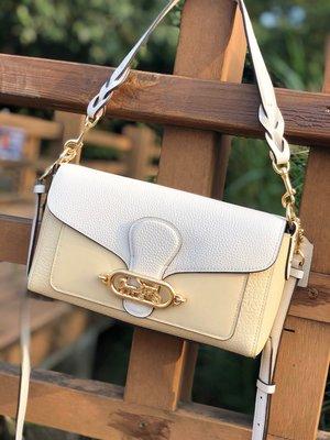 品牌折扣館 美國代購正品 COACH 91105 新款全皮Jade26手提包 信封包 斜跨包 女包  附購買證明