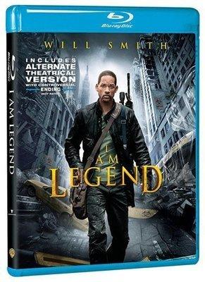 BD 全新美版【我是傳奇】【I am Legend】Blu-ray 藍光 威爾史密斯